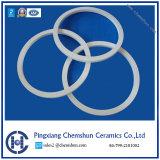 Pressé isostatique Al2O3 en céramique résistant à l'anneau de vérin de solution pour l'usure