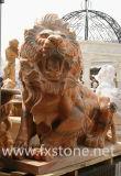 대리석 상 또는 동물 동상 또는 정원 조각품 (BJ-FEIXIANG-0038)