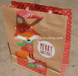 Reciclar   Bolsa de papel cómoda de Eco Kraft del bolso del regalo del papel de Brown Kraft