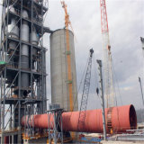 Печь цемента роторная для производственной линии завода цемента & цемента