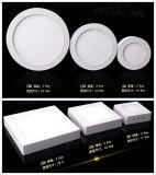 6W/ ronde LED carrés d'éclairage de plafond, cuisine d'éclairage à LED