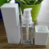 Ispessire la bottiglia della plastica della bottiglia del quadrato della bottiglia dell'animale domestico