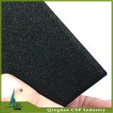 плитка пола 15mm черная резиновый для гимнастики