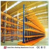 粉のコーティングの中国の製造者の倉庫の記憶の鋼鉄片持梁棚