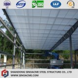 Bewegliches Stahlkonstruktion-Befestigungsteil-System mit flachem Dach