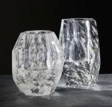 Sostenedores de vela cristalinos naturales