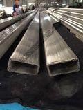 Tuyauterie rectangulaire d'acier inoxydable