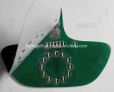 LEDs Backlight Rígido PCB Circuit Membrane Switch, Mic0287