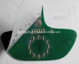 Commutateur de membrane de circuit imprimé à circuit imprimé rétroéclairé LED, Mic0287