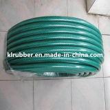 "1/2 ""Bore verde PVC reforzado manguera de jardín"