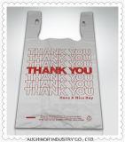 Zakken van de T-shirt van de Carrier van het Vest van de Zakken van het Hemd van 100% de Maagdelijke Witte