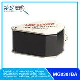 Magnifier 10xdiamond con la lampada bianca