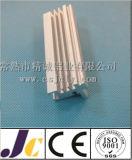 밝은 양극 처리된 알루미늄 열 싱크, 밀어남 알루미늄 열 싱크 (JC-C-90033)