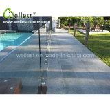 Bestes verkaufenabgezogenes Oberflächenschwarz-Granit-Pool des Vermögens-G684, das für Swimmingpool fertig wird