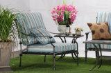 Moderner Entwurfs-im Freienmöbel-Gussaluminium Azusa, das Arm-Stuhl speist