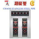 SUS201, Doorjamb를 위한 304 Stainless Steel Pipe