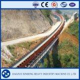 China curvou o transporte de correia interurbano