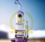 코로나 Recycler 담배 키 큰 색깔 사발 유리제 기술 재떨이 유리는 무모한 비커 버플러에 의하여 손으로 만들어진 암살자 Grider 유리제 유일한 석유 굴착 장치 유리제 수관을 배관한다
