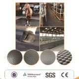 Blockierende beständige Gummimatte, Landwirtschafts-Gummimattenstoff, Kuh-Pferden-Mattenstoff