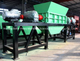 Plástico / Madeira / Pneu / Usado: pneus / resíduos sólidos / resíduos médicos / HDPE / HDPE Shredder de tambor para venda