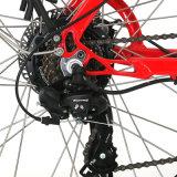 E-Bicicletta chiara della donna del blocco per grafici con la barra della maniglia della Al-Lega 6061 di Promax