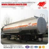 de 11100mm*2500mm*3990mm de produit chimique de liquides de camion-citerne remorque semi à vendre