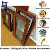De estilo popular norteamericana Roble macizo/madera de teca, Ventanas de aluminio