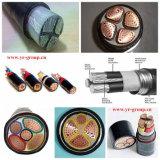 Cabo de alimentação embutido de PVC revestido de cobre de boa qualidade (alumínio)