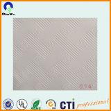 Película del PVC del blanco del diseño 154 para la tarjeta de yeso