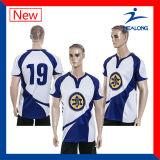 Mens에 의하여 승화되는 럭비 Jerseys 셔츠 디자인