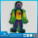 Customized Personagens de desenho animado por atacado Epoxy Rubber Fridge Magnet