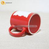 keramische Kaffeetasse der roten Sublimation-11oz für Verkauf