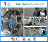 Línea de la maquinaria del tubo del HDPE, máquina de la producción del tubo del PE