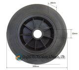 8 pulgadas ruedas de caucho para el cubo de basura del bote de basura Ash Bin 200 X 50 polvo de neumáticos Ruedas
