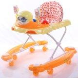 Marcheur orange de bébé de couleur avec la vente en gros de base inférieure spéciale