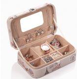 Европейская ретро коробка ювелирных изделий PU Lether