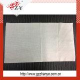 Pano de confeção de malhas da aderência do filamento do poliéster para o metal ou a auto limpeza
