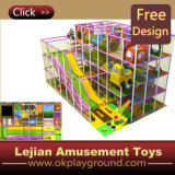 CE Colorful enfants attractions Indoor Playground (T1407-8A)