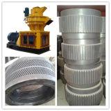 Cascarilla de arroz peletizadora/prensa de pellet de paja, la producción de máquinas de prensa de pellet Fro Venta