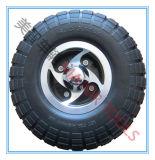 Fauteuil roulant de caoutchouc mousse de PU Scooter 10x3.00-4 de roue