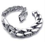 Armband van de Mensen van de Armband van het Roestvrij staal van de manier Retro