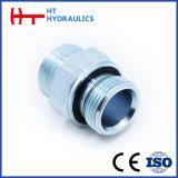 adaptador hidráulico masculino de la guarnición de manguito del anillo o métrico 1e