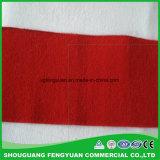 중국에서 짠것이 아닌 폴리에스테 펠트 직물의 색깔