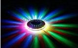 Luz del girasol del laser del control de la voz de la luz de la etapa del UFO LED del laser
