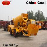 Heavy Duty Hydraulic Motor 1 Cbm Concrete Mixer Truck