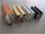 Alumínio de alumínio perfil personalizado da extrusão com fazer à máquina do CNC