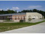 Edificio de marco ligero porta de la estructura de acero