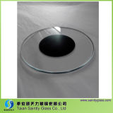 3mm 4mm 5mm 6mm 8mm 10mm LED Lighting Flat SHAPE Tempered Glass Float Glass met Step en Serigrafie Printing