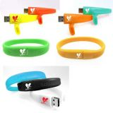 Pulsera unidades flash USB con distintos colores