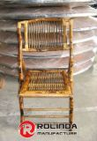 Chaise de jardin pliée extérieure de Bamoo en vente
